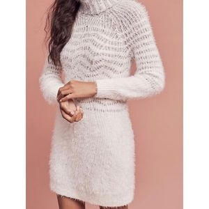 Anthropologie | Turtleneck Sweater Dress